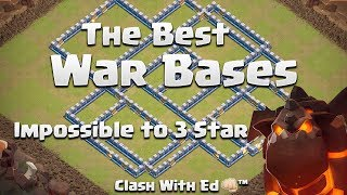 See InTheDark Th12 Anti 3 Star War Bases Defend - IMPOSSIBLE to Triple - Clash of Clans