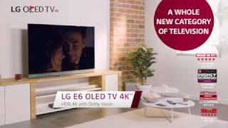 LG OLED TV E6V Product Video