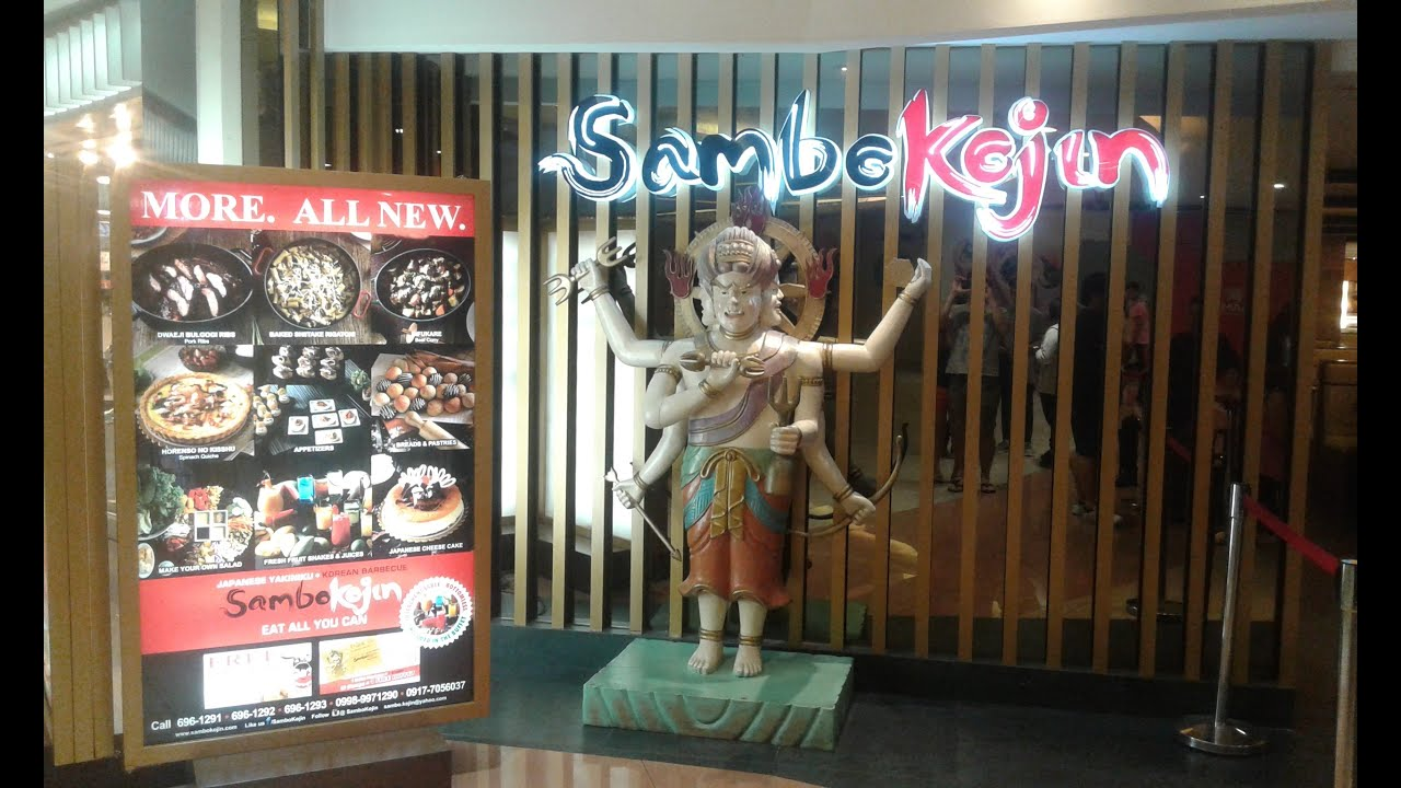 Sambokojin  All you can eat Buffet! Japanese and Korean Cuisine!  Philippines