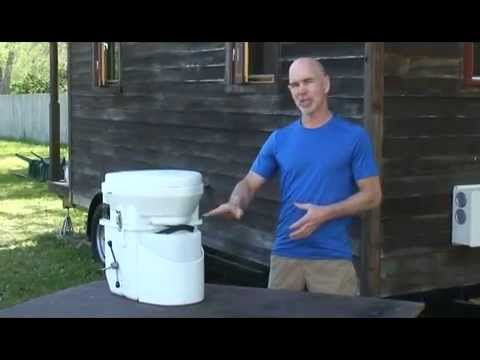 natures Head composting toilet for tiny homes
