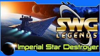 SWG: Legends -Imperial Star Destroyer vs. Rebel Nova Courier! Jump to Lightspeed