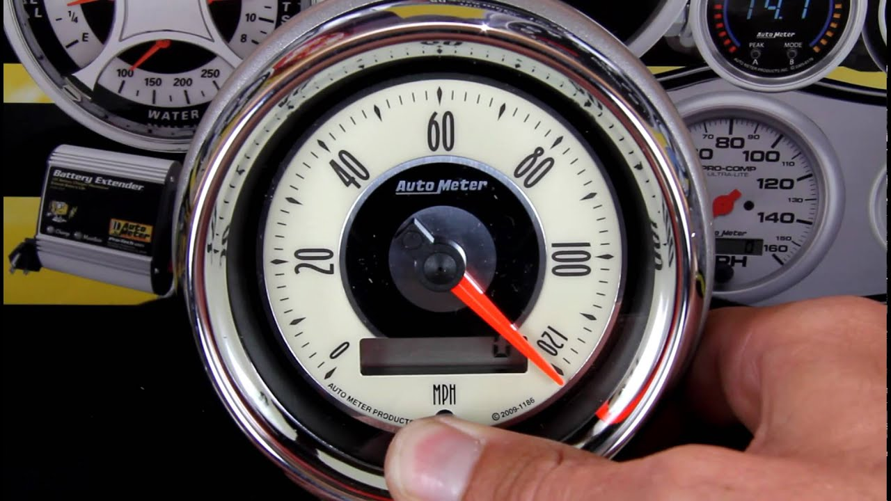 Auto Meter Electric Speedometer Wiring Diagram Speedo Calibrating Your Autometer Hd Youtube Rh Com Tach