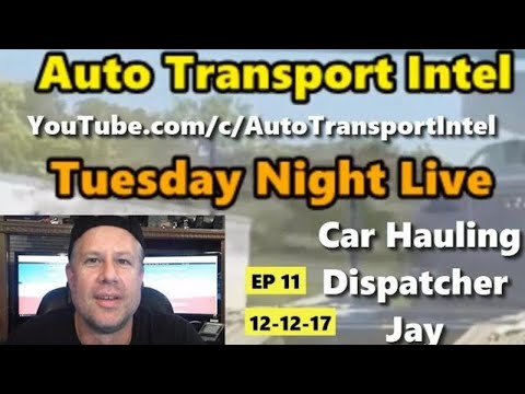 Car Shipping Live Show with CarShipIO TMS Stan & Serge The Car Hauler
