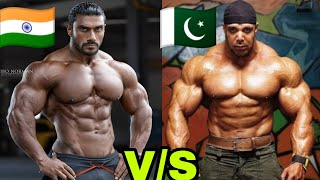 India VS Pakistan Bodybuilder   Sangram Chougule vs Zack Khan
