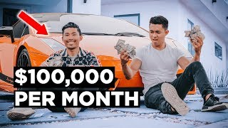 How He Makes $100,000 Per MONTH with Affiliate Marketing!