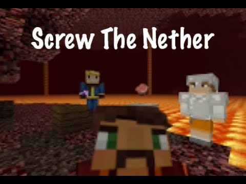 🎶 Screw The Nether (Moves Like Jagger Parody)