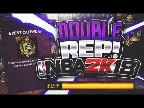 NBA 2K18 200k+ A GAME REP METHOD!! THANKSGIVING DOUBLE REP/XP WEEKEND 100% COMFIRMED🦃