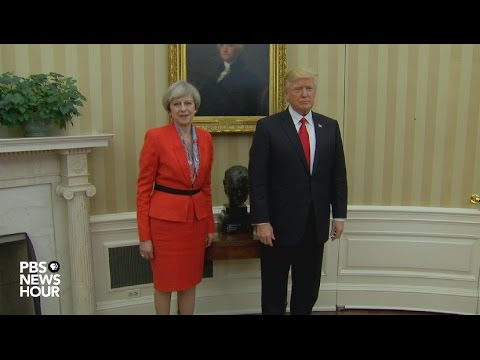 WATCH LIVE: President Donald Trump and British Prime Minister Theresa May joint news conference