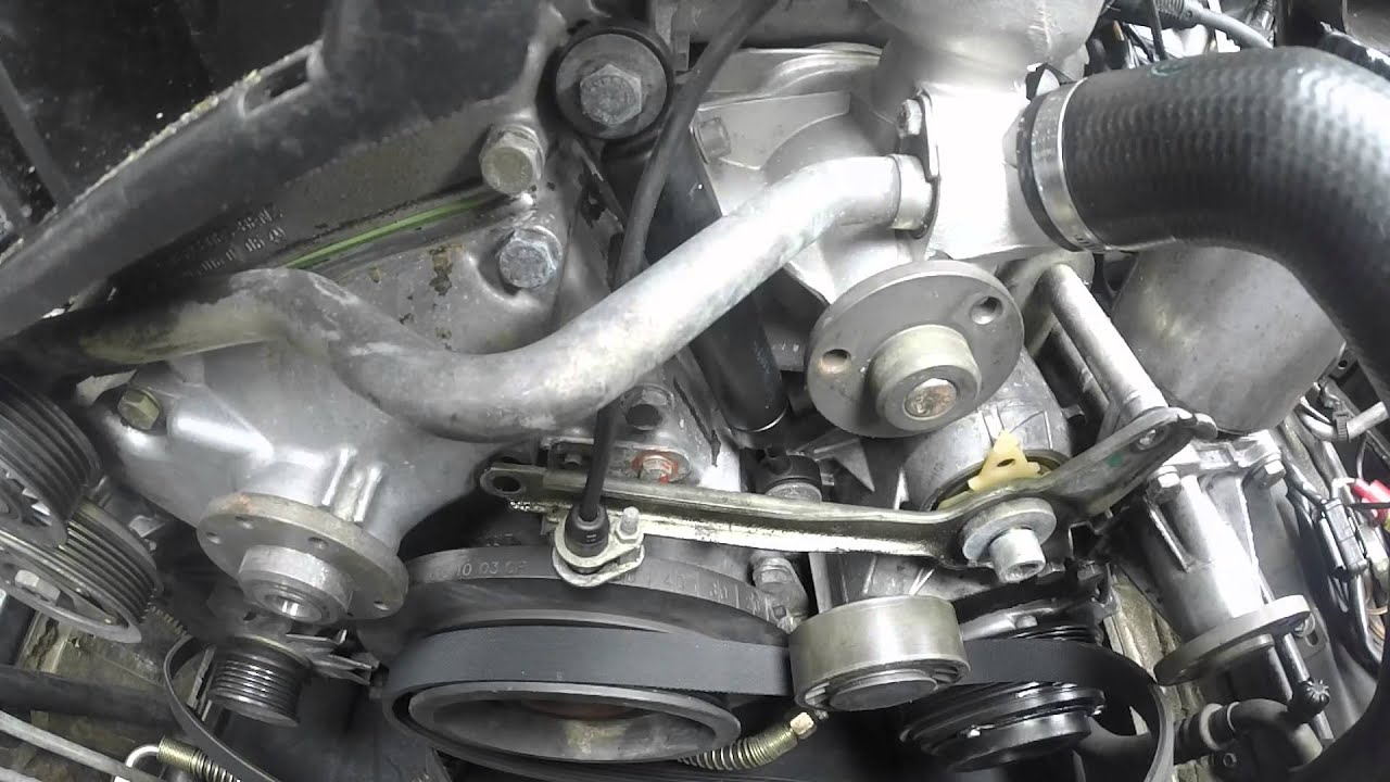 300e 24 belt tensioner replacement [ 1280 x 720 Pixel ]