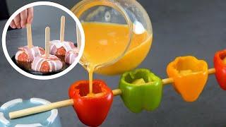 Милые закуски с оригинальной начинкой станут хитом любого праздника.