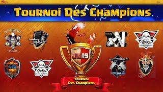 Tournoi des champions   Les 8 Meilleurs Clans FR se présentent   Clash of Clans
