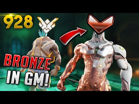*WTF* BRONZE PLAYERS IN GM GAMES!? | Overwatch Daily Moments Ep.928  (Funny and Random Moments)