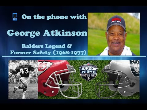 Not For Long Pro Football Show - George Atkinson 12/7/16