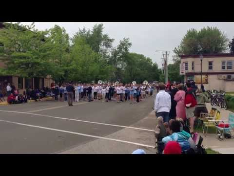 McFarland Memorial Day Parade - 2013 - Indian Mound Middle School Band