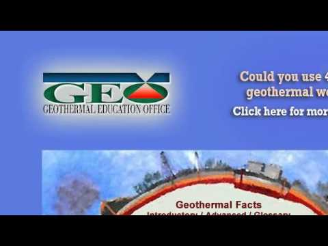 Geothermal Classroom Projects