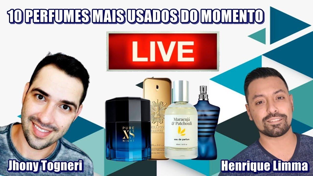 Top 10 - Perfumes Favoritos do Momento (Com Henrique Limma)