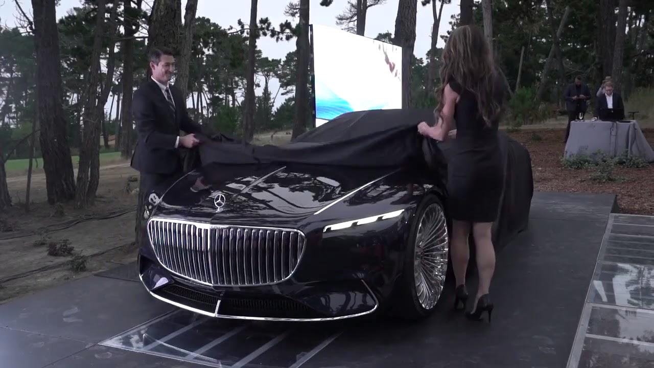 أحدث سياره مرسيدس في العالم Youtube