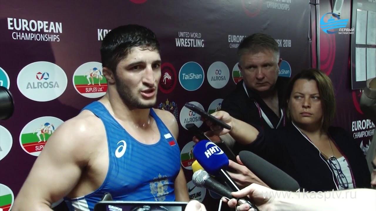 Каспийчанин Гаджимурад Рашидов завоевал золотую медаль на Чемпионате Европы по спортивной борьбе 2018, и стал двукратным чемпионом по вольной борьбе