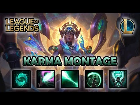 KARMA MONTAGE - 300 IQ | Odyssey Karma Skin | League of Legends