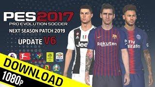 PES 2017 | Next Season Patch 2019 Update v6.0 | Download