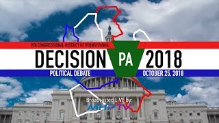 MHP Presents the 9th Congressional District Debate - Live from Pottsville, PA