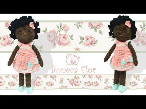 Crochet doll amigurumi pattern flower doll amigurumi   Etsy   360x480