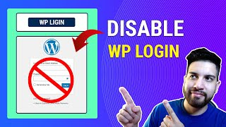How To Disable Wp Login On Wordpress | Change Wordpress Login Page