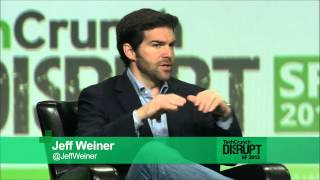 Economic Graph: Jeff Weiner at TechCrunch Disrupt 2013
