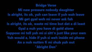 Alkaline - Block & Delete (Lyrics On Screen)