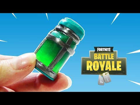 Comment faire la gourde du brave Chug Jug - Fortnite | Tutorial Polymer Clay ?