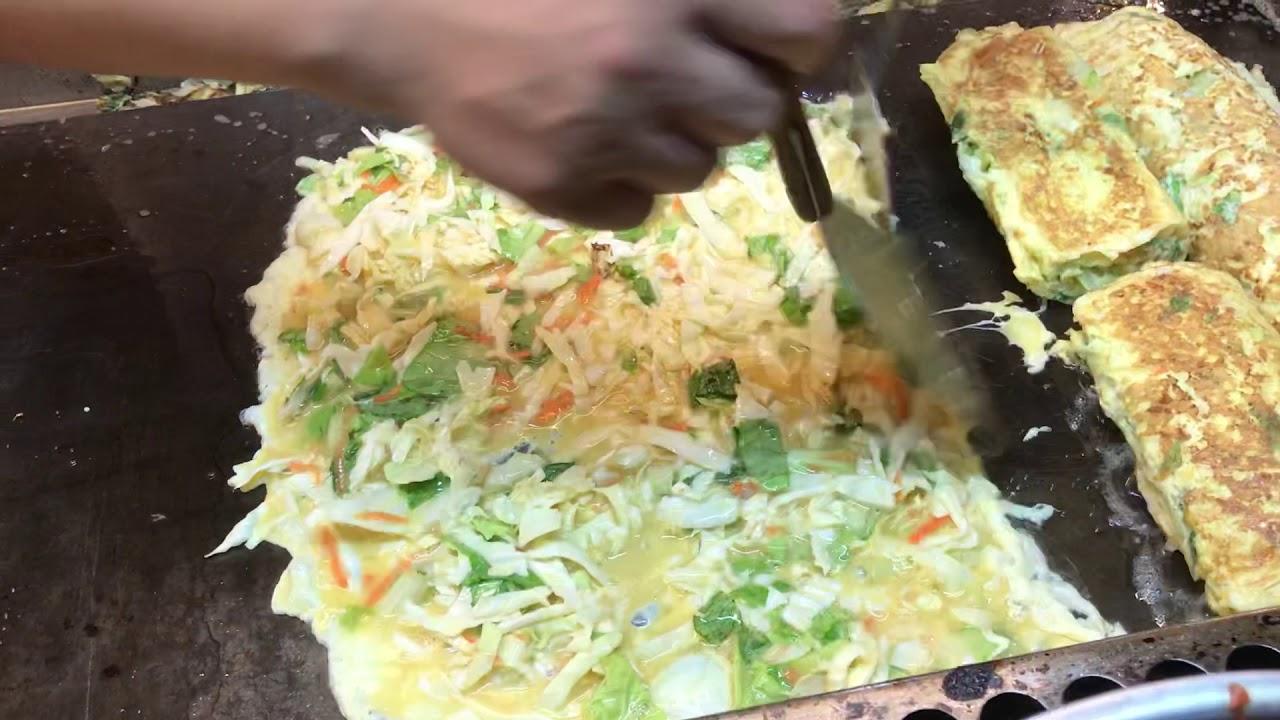 蔬菜黃金蛋捲,素食,三和夜市素食,蛋捲小品, 小品愛素食, 小品愛旅行,