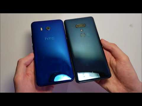 HTC U12+ Unboxing! Transparent Blue!