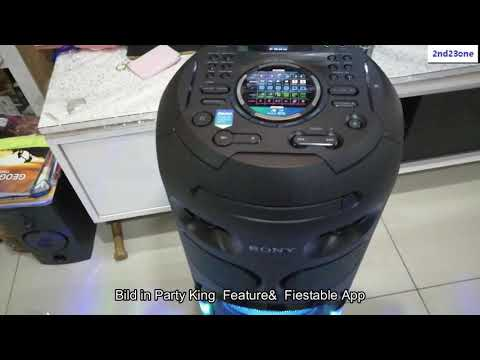 Sony MHC V42D Hifi Party Speaker Unboxing  2nd23one