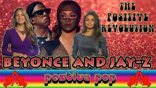 BEYONCE and JAY Z Go Vegan on The Positive Revolution Presents Positive Pop Culture