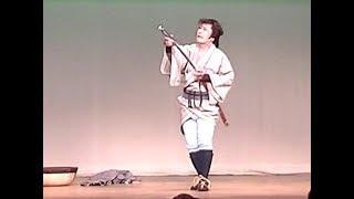 新舞踊  曲: 瞼の母 (ズーム拡大版) 踊: 深山 幸三郎 2015(初演)