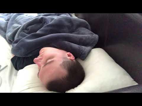 Watch me sleep #13: Real Lucid Rapid Eye Movement & Loud Thick Snoring | Voyeur Me | WhiteNoise ASMR