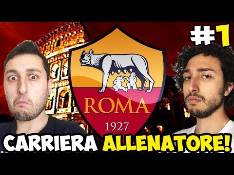 DI FRANCESCO LEVATE POPO!! CARRIERA AS ROMA [OSM GAMEPLAY ITA]