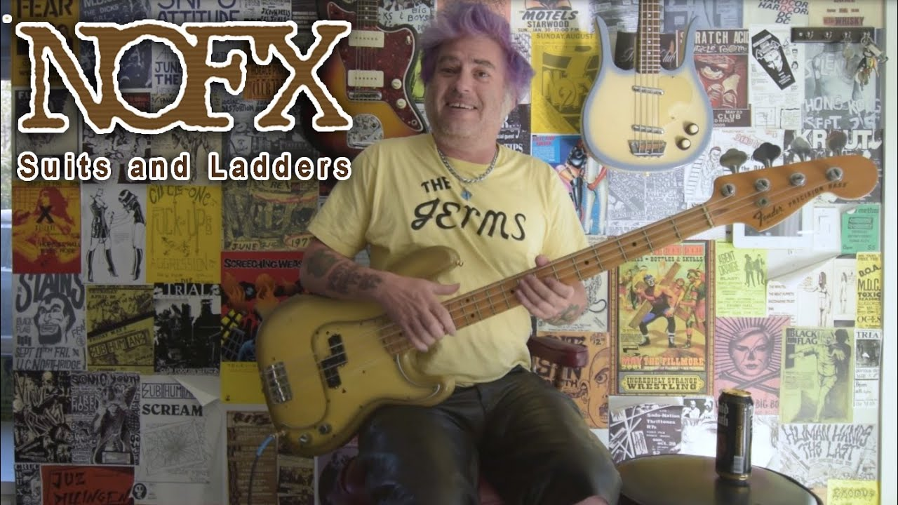 NOFX - Suits and Ladders (Bass Play Through)