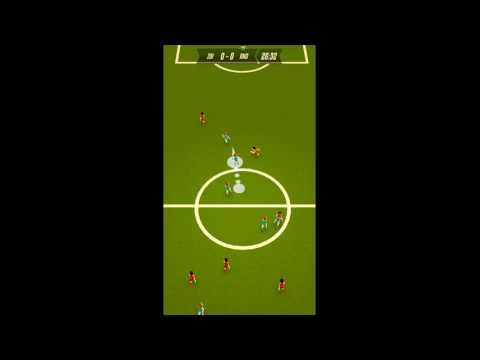 Solid Soccer. iOS Gameplay.
