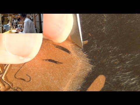 Japanese Printmaking - Twitch stream highlights 2017/09