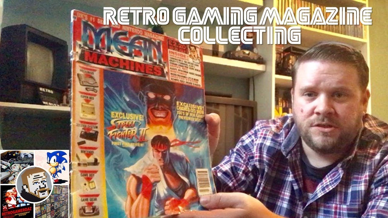 Retro Gaming Magazine Collecting - YouTube