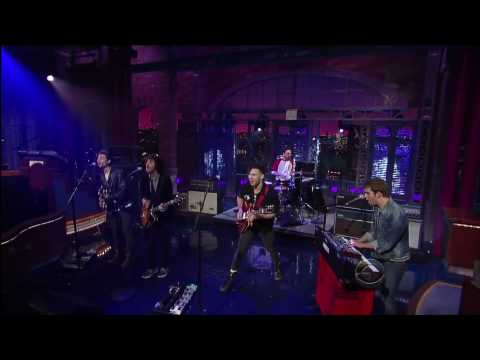 Steel Train [HD] - The Late Show with David Letterman