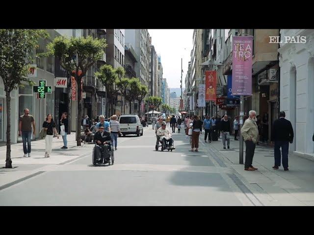 Pontevedra, la ciudad que mejoró su aire al pensar en sus peatones