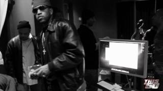 beamer benz or bentley by lloyd banks video shoot studio performance   bts   50 cent music