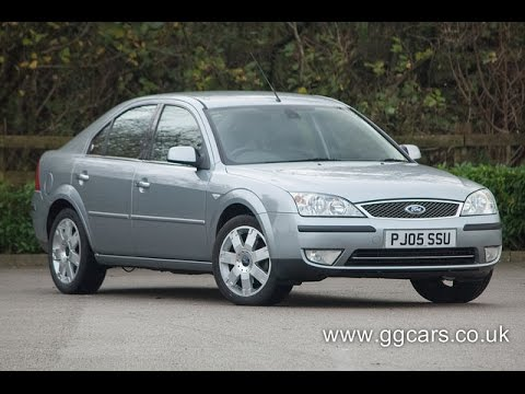 ford mondeo 2 2 tdci ghia x youtube. Black Bedroom Furniture Sets. Home Design Ideas