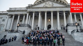 Congress Observes Moment Of Silence As American Covid-19 Death Toll Reaches 600000