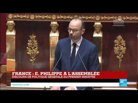 REPLAY - Discours du Premier ministre, Édouard Philippe à l'Assemblée Nationale