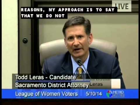 District Attorney Forum - League of Women Voters  5-10-14
