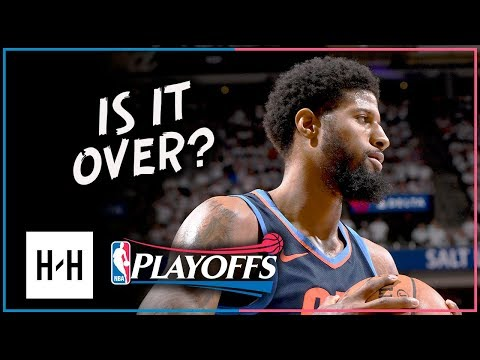 Paul George Full Game 4 Highlights Thunder vs Jazz 2018 Playoffs - 32 Points