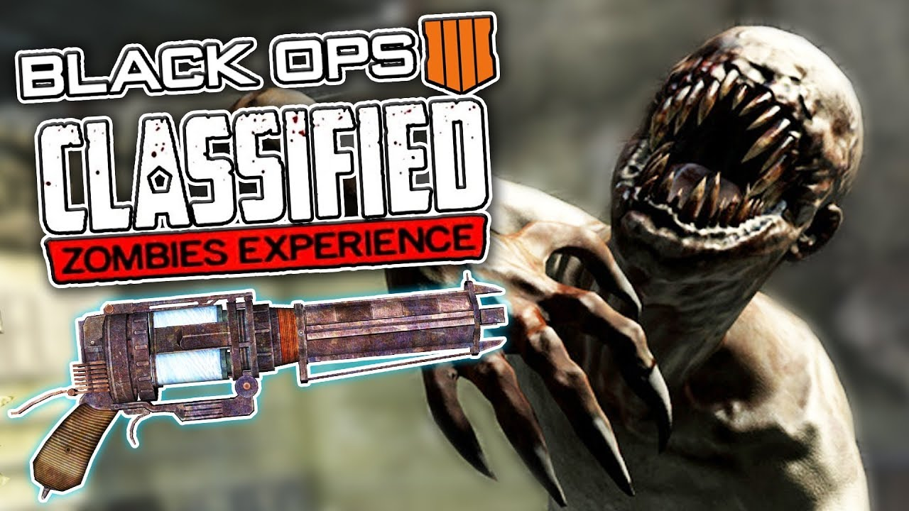 Black Ops 4 Zombies: BIGGEST CLASSIFIED LEAK SO FAR!! (COD BO4 Zombie Leaks / News / Information)